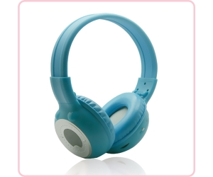 Hi Fi wireless IR-309 stereo headset for kids with attractive color