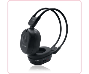 IR-306D infrared wireless headphones for car supplier in China