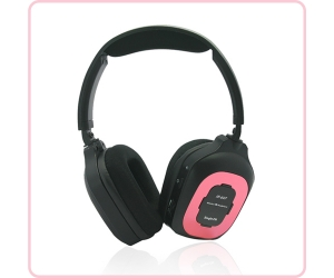 Infrared wireless Fold-flat headset  IR-607 color for option