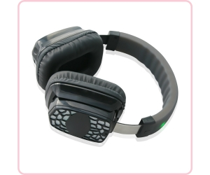 RF-609 silent disco wireless headphone system with transmitter for silent party