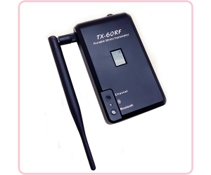 TX-60RF rechargeable wireless transmitter for outdoor silent disco party