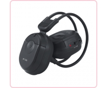 China RF-307 RF foldable headphone for car audio factory