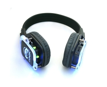 China RF-309 wireless headphones for silent disco yoga wholesale factory