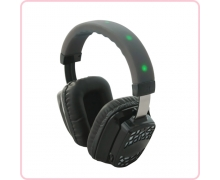 China RF-609 wireless rechargeable silent party headphones factory
