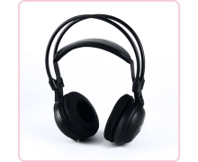 RF-800 2 channel silent disco headphone rental with high quality wireless transmitter