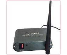 TX-50RF wireless silent disco transmitter with RF frequency