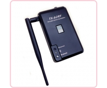 China TX-60RF rechargeable wireless transmitter for outdoor silent disco party factory