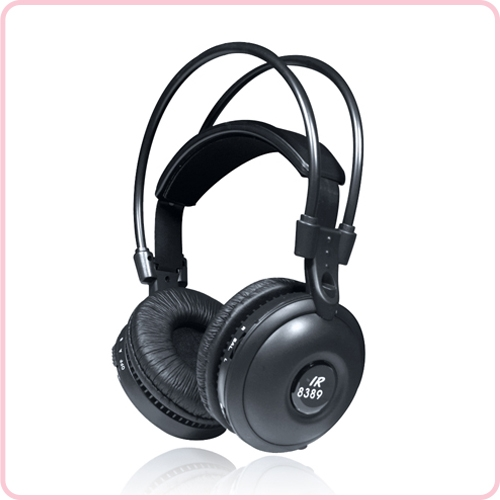 Ir 8389 Wireless Ir Headphones For Car Dvd Player With Best Sound Quality High Quality Silent Disco Headphones Silent Yoga Equipment Wireless Tour Guide System Manufacturer In China