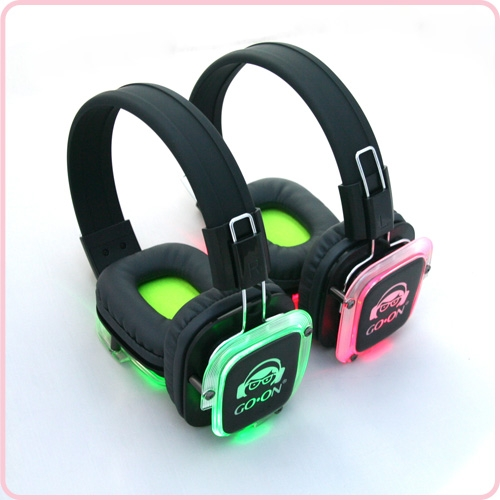 Rf 309 3 Channel Silent Disco Headphone For Silent Party