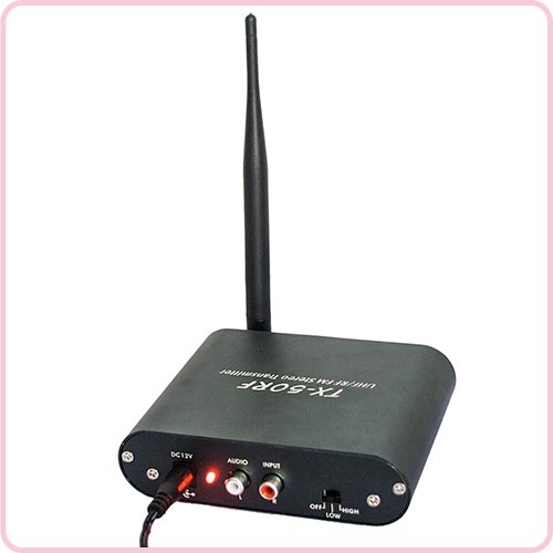 Tx 50rf Silent Disco Transmitter Radio Frequency With 500