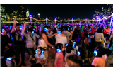 Silent Disco Party in summer
